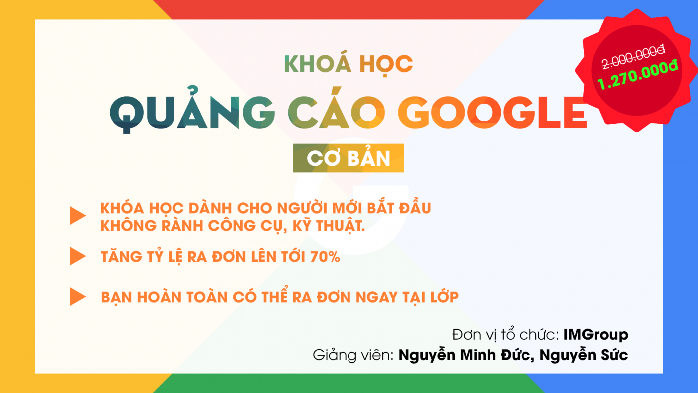 Học online marketing trên google adwords SEO