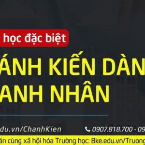 CHÁNH KIẾN CHO DOANH NHÂN